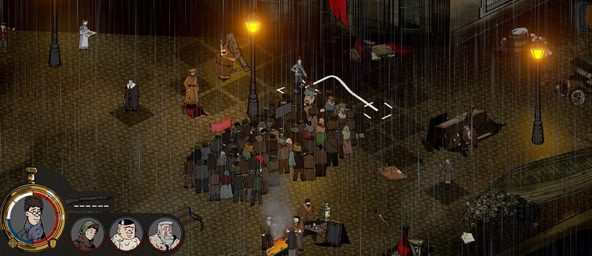 Legion 1917 is a turn-based strategy game set in the Russian Revolution
